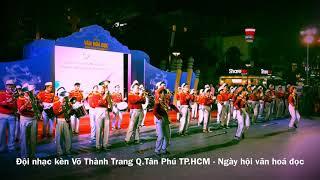 Ngày hội văn hoá đọc - Đội nhạc kèn Võ Thành Trang
