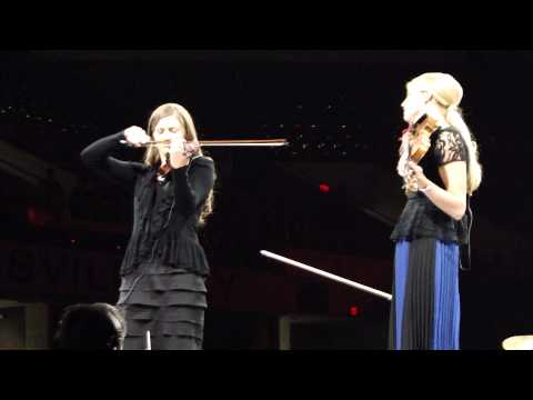 Courtney and Brooklyn Collingsworth play The Prayer at NQC 2012