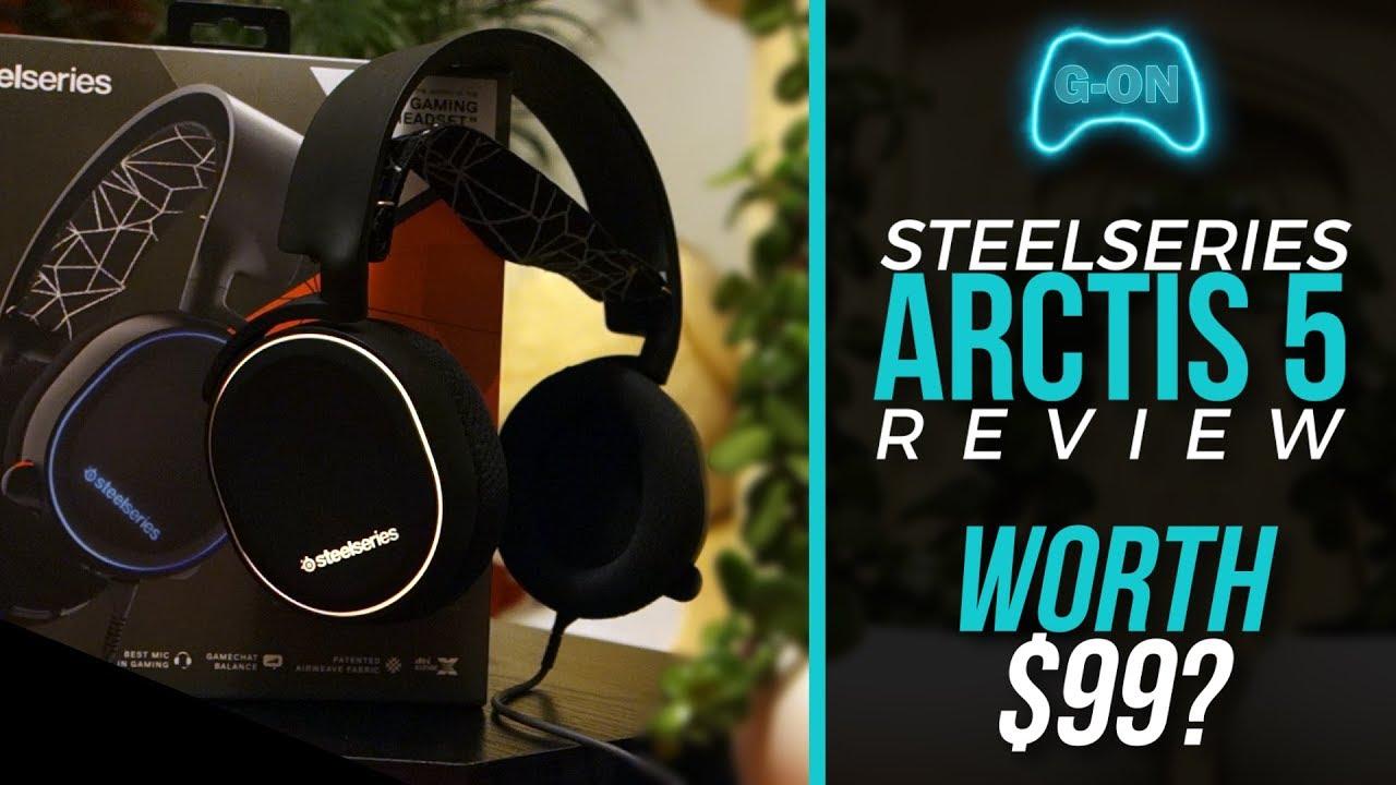 c52b42168c9 Steelseries Arctis 5 - My Honest Review (2018) - YouTube