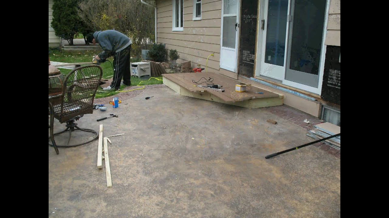 Patio Steps - YouTube
