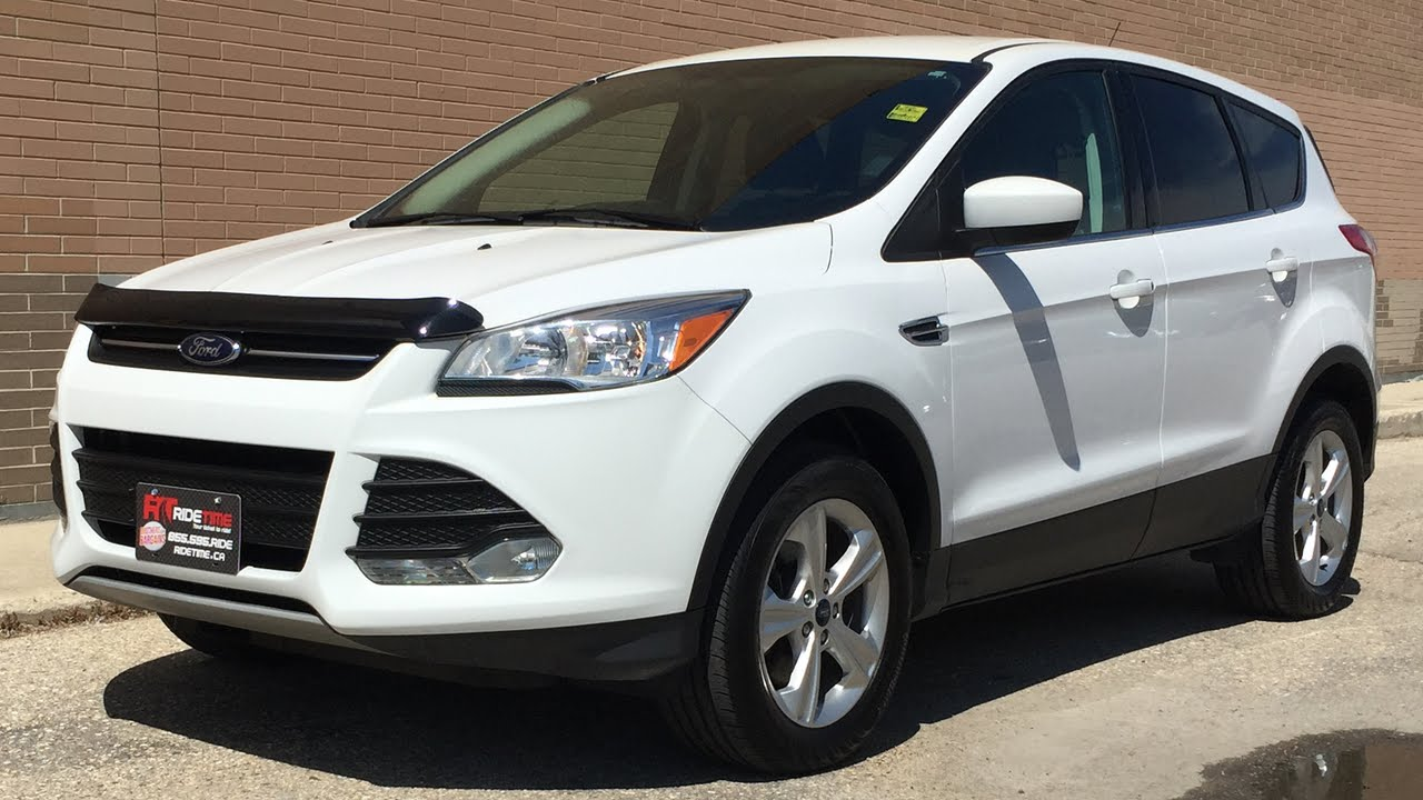 2014 ford escape se 4wd 1 6l ecoboost alloy wheels backup camera great value youtube