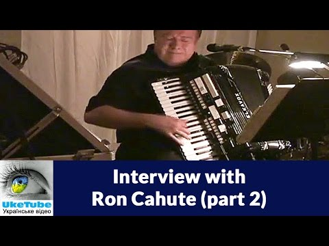 Interview with Ron Cahute 2/2