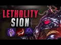 INSANE DAMAGE ON NEW FULL LETHALITY SION BUILD Troll Builds That Work 15 mp3