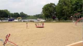 old playground equipment Merry-Go-Round