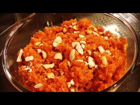 Gajorer Halwa Recipe | Carrot Halwa | How to make Gajorer halua