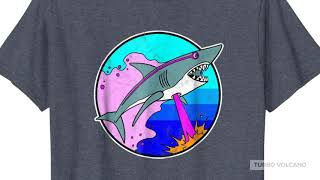 LASER SHARK RETRO T-Shirt Launch Promo