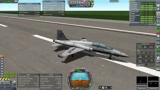 Kerbal Space Program RO Sandbox - T-38 Talon