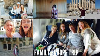 My Trip To Europe | Greece, Italy, Croatia & Turkey Thumbnail