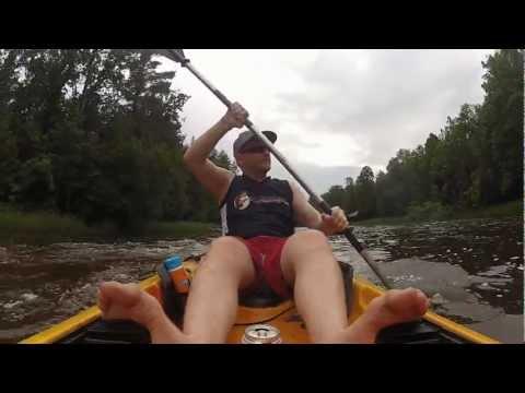 Kayaking - Oconto River - Wisconsin - GoPro Hero 2