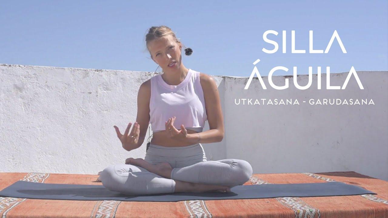 Utkatasana y garudasana silla y águila   The Class Yoga