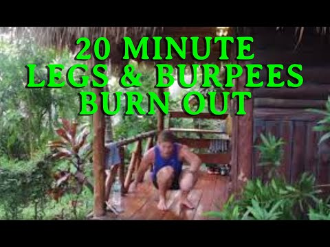 HIIT 13: 20 Minute Legs & Burpees Burn Out (No Warm Up)