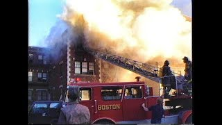 Columbia Rd Dorchester fatal fire
