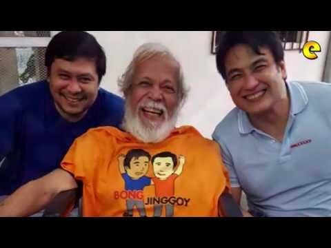 Dick Israel Visits Jinggoy Estrada And Bong Revilla