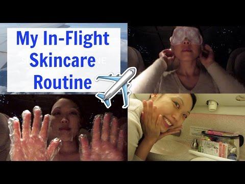 My In-Flight Skincare Routine - MsVanityCharm
