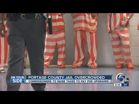Portage County To Increase Sales Tax To Combat Jail Overcrowding