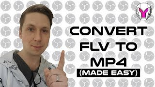 turn an FLV into a mp4  CaponDesignTV