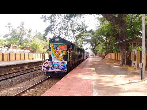 First train on Kollam Sengottai route after 8 years!!!!!!
