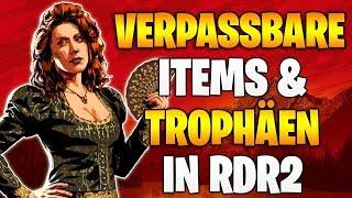 Red Dead Redemption 2: ALLE Verpassbaren Items & Trophäen - Jedes Kapitel im Detail durchsucht