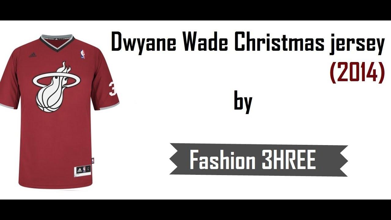Dwyane Wade 2014 Christmas Jersey from Aliexpress #Fashion3 - YouTube