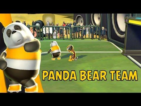Cartoon Network Superstar Soccer Goal - PANDA BEAR TEAM - PANDA BEAR'S GOLD TROPHY