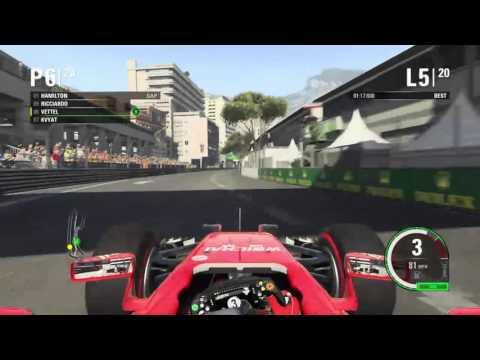 F1 2015 Custom Season 2 Part 18 Mayhem Monaco