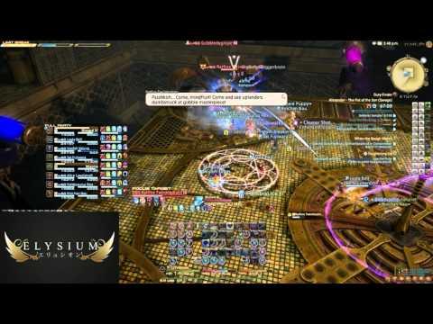 FFXIV: Alexander Floor 5 (Savage) - Elysium FC (BLM PoV)