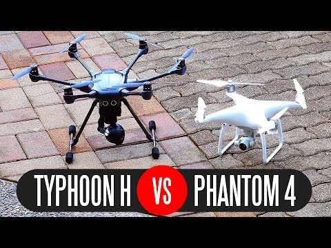 Yuneec Typhoon H vs DJI Phantom 4 - Full Comparison