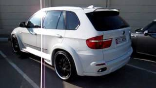 BMW X5 Hamann(If you like to see more unique super cars subscribe and follow me on Twitter more videos and tons of pictures which come in daily https://twitter.com/#!, 2010-05-10T15:19:22.000Z)