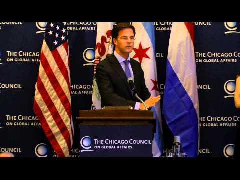 Mark Rutte at The Chicago Council on Global Affairs