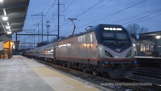 Amtrak Silver Meteor Train No. 98 with new Viewliner Baggage cars