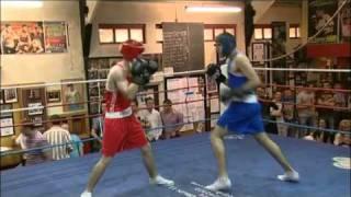 Crumlin Boxing Club white collar