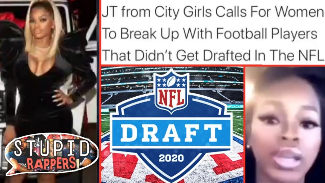 """Stupid Rappers: JT says """"LEAVE HIM if he AINT get DRAFTED to the NFL!"""" 