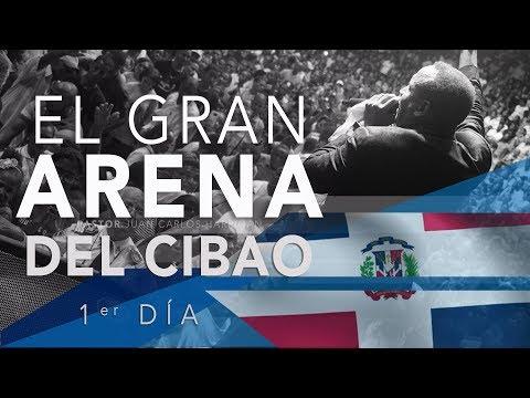 Gran Arena del Cibao SANTIAGO RD | Pastor Juan Carlos Harrigan | 1er Dia