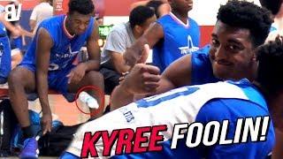 Kyree Walker & Friends Have Fun BULLYING Kids In AZ! SUPER JELLY + LeBron Dunks + BOTTLE FLIP!