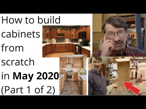 How To Build Cabinets From Scratch Part YouTube - How to build kitchen cabinets from scratch