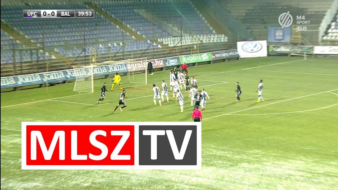 Haris Attila gólja az Újpest FC - Balmaz Kamilla Gyógyfürdő mérkőzésen