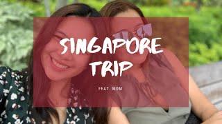 VLOG #1 | Singapore Trip w/ Mom