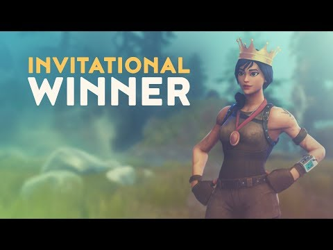 INVITATIONAL WINNER (Fortnite Battle Royale)