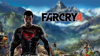Far Cry 4 Superman - Ultra Settings PC Gameplay