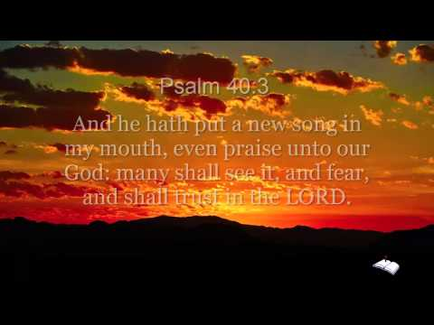 Abigail Miller Scripture Song Psalm 40:3 KJV Text