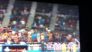 My Player (Jimmer Range) 3 pointer at the buzzer