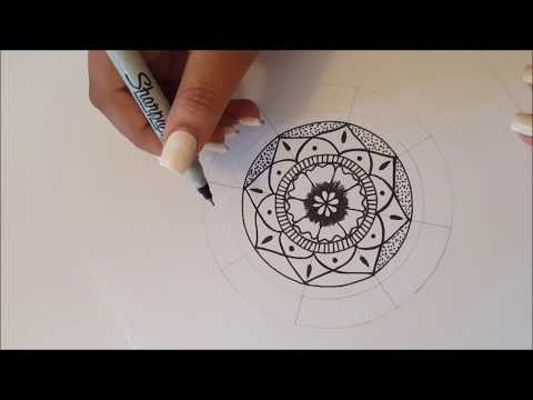 Mandala paso a paso y tips! / Dibujo Rapido