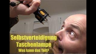 Selbstverteidigung Taschenlampe???