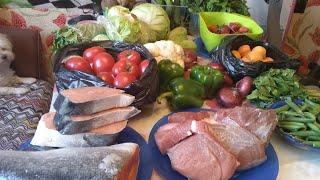 видео: Закупка полезных продуктов на 10 дней. Правильное питание.