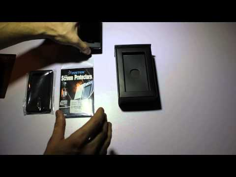 Microsoft Zune HD Black 16 GB - Unboxing