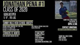 Jonathan Peña Highlight Video 2019-2020