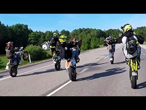 The Ultimate Freedom  Supermoto Clique of Sweden  StreetVikings 2018