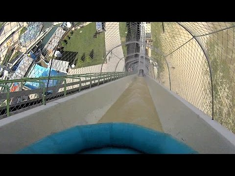 Giant Verrückt Water Slide at Schlitterbahn Kansas City