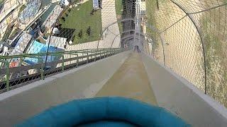 giant verrckt water slide at schlitterbahn kansas city