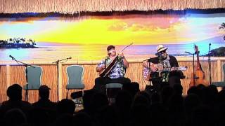 """Far Away"" @SlackKeyShow by Dennis Kamakahi with Chino Montero"